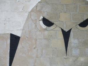 Zonder titel, 2013, muurschildering, Derde Jaarlijkse Vonk Expo, Hasselt